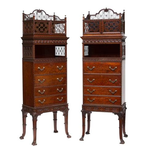 21st century cabinets reviews 19th century chippendale mahogany cabinets with secretary
