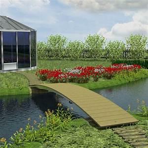 Brücke Für Gartenteich : naturagart shop br cke 75 cm x 450 cm online kaufen ~ Whattoseeinmadrid.com Haus und Dekorationen