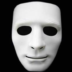 men s masquerade mask popular white mask buy cheap white