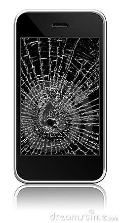 Broken Cellphone Stock Photography - Image: 11040072