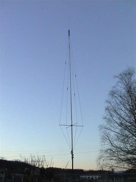 homebrew multiband vertical hf antenna ham radio antenna