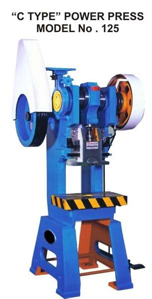 type power press manufacturer offered  sagar machine
