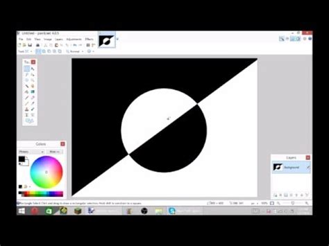 how to make the invert colors pic in paint net