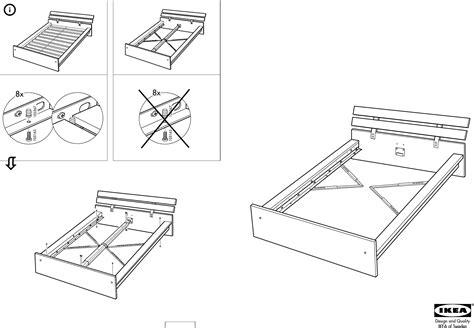 Ikea Bed Gebruiksaanwijzing by Handleiding Ikea Hopen Bedframe Pagina 1 8 Dansk