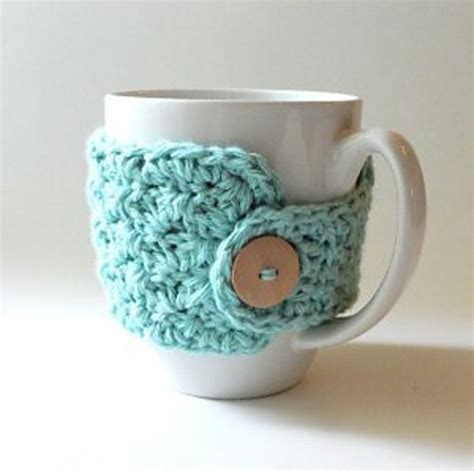 20 Free Crochet Cup Cozy Patterns Perfect For A Quick And