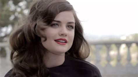 Lucy Hale Behind The Scenes - HauteMuse Cover shoot - YouTube