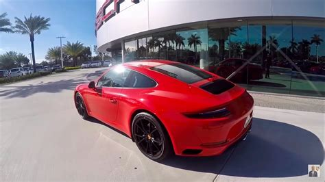 guards red porsche 2016 guards red porsche 911 carrera 370 hp porsche west