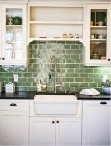green glass tiles for kitchen backsplashes 25 best ideas about green subway tile on glass subway tile backsplash glass tile