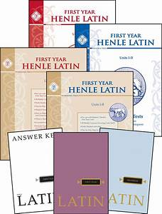 Henle Latin First Year  Units I