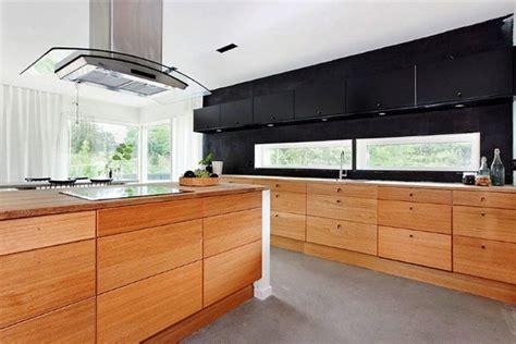 cocina moderna  muebles de madera imagenes  fotos