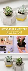 Blumentöpfe Aus Beton : die besten 25 deko aus beton ideen auf pinterest ~ Michelbontemps.com Haus und Dekorationen
