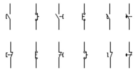Electrical Switch Symbols