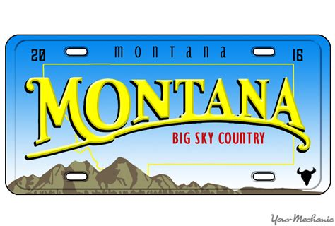 How To Buy A Personalized License Plate In Montana