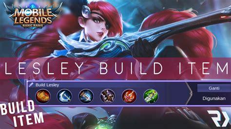 Guide Build Item Lesley Mobile Legends