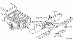 2004 Nissan Titan Rear Bumper Parts Listing