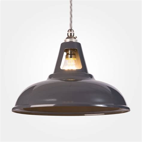 In Pendant Lighting by Coolicon Industrial Pendant Light Powder Coated By