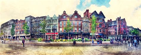 Nottingham Panorama City Watercolor Painting By Justyna Jbjart. Outdoor Decorative Well Covers. Girl Room Decorations. Country Kitchen Decor. Cheap Decor Pillows. Seattle Room For Rent. Cost To Extend A Room. Ikea Home Decor. Teenage Room Decorating Ideas