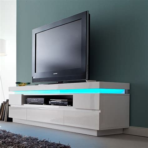 floating tv stand best odessa 5 drawer lowboard tv stand in high gloss white with
