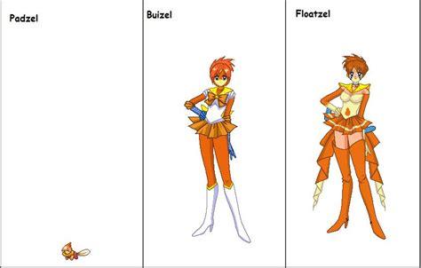 Buizel Senshi Line By Planetxin On Deviantart