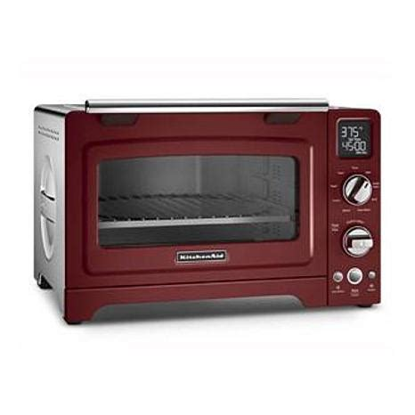 White Digital Toaster Oven by Kitchenaid Digital Toaster Oven 12 Coblt 8721953 Hsn