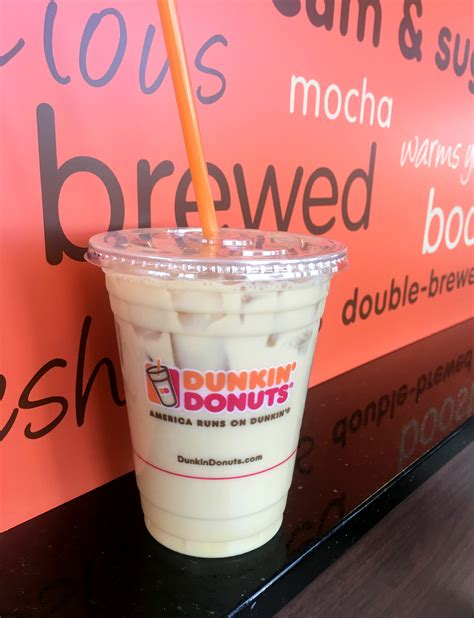 We spotted a display fridge with all the different kinds yesterday. New Pistachio Iced Coffee from Dunkin' Donuts - Mommy ...