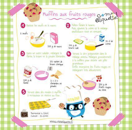 muffins c monetiquette mon cahier de recettes