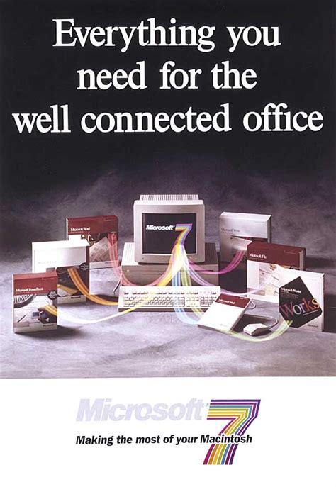 advertisement microsoft office  macintosh