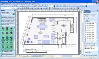 cabin floor plans svg scenarios using microsoft office visio 2003