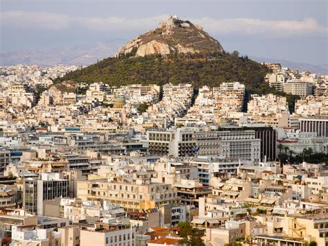 mount lycabettus athens greece bmw unstoppable