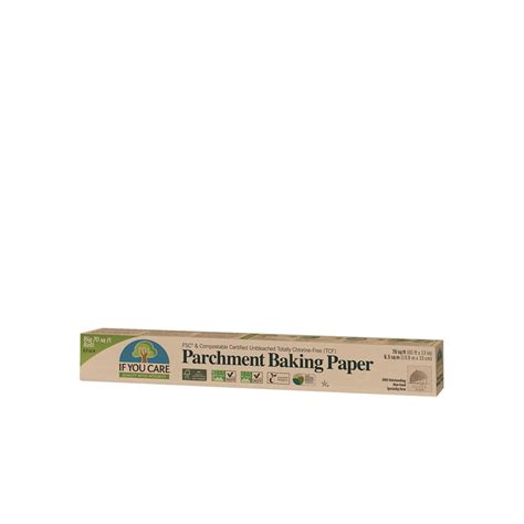 parchment compostable baking certified kitchenware paper sheets
