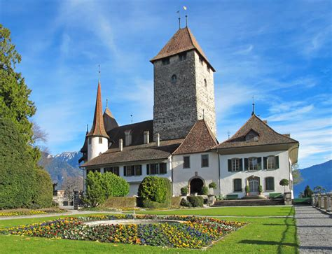 Spiez Castle Switzerland Jigsaw Puzzle In Puzzle Of The