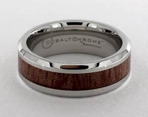 wood grain comfort fittm ring cobalt chrometm james With james allen mens wedding rings