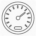 Dashboard Speedometer Drawing Speed Icon Gauge Vehicle