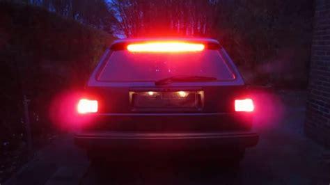 brake light inspection cost car led brake light vw golf 2 ไฟเบรค led youtube