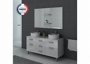 meuble salle de bain laque blanc veglixcom les With meuble de salle de bain blanc laque
