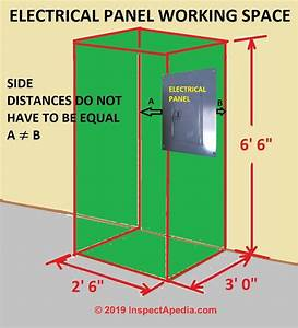 Electrical Panel  U0026 Equipment Working Space Clearance