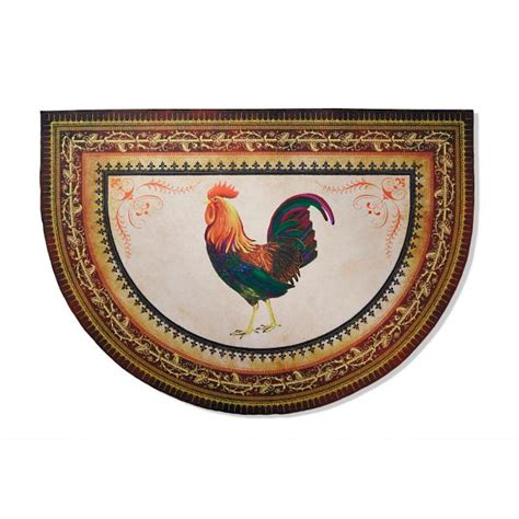 Kitchen Mat Rooster by Victory Rooster Half Kitchen Mat Frontgate