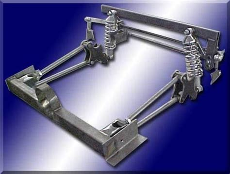 link rear suspension system   performance