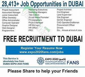 world expo 2020 jobs vacancies 2014 in dubai and uae With documents required for job in dubai