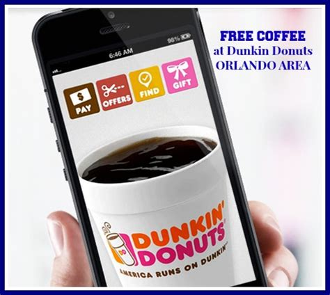 Dunkin' donuts is brewing up plenty of joy by handing out free medium hot coffees at select locations now until dec. FREE COFFEE at Dunkin Donuts in Orlando Area - #MonDDayMagic