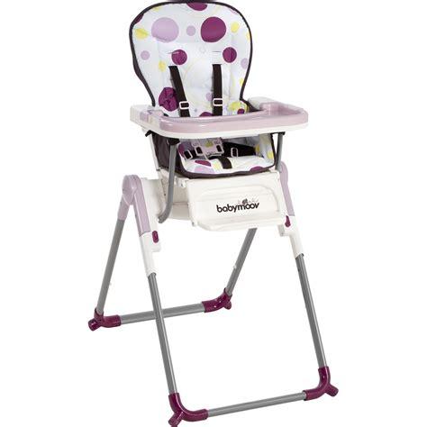 chaise a manger pour bebe soldes chaise haute bébé slim prune 27 sur allobébé