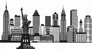 New York Bilder Schwarz Weiß : new york city skyline schwarzwei vektorillustration vektor illustration 502622721 istock ~ Orissabook.com Haus und Dekorationen