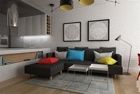 coussin sur canapé gris canapé gris moderne 55 modèles d angle ou droits foncés