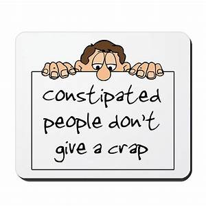 Constipated People Mousepad by tshirtdiva