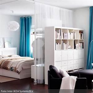 Zimmer Trennen Ikea : vorh nge als raumteiler wohnung einrichten ~ A.2002-acura-tl-radio.info Haus und Dekorationen