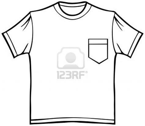 Tshirt Template For Logo Pocket by Shirt Pocket Outline Shirt