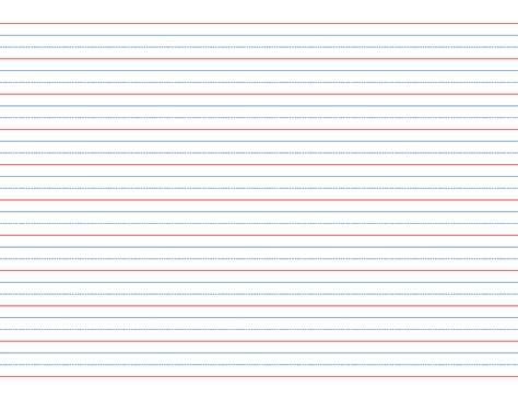 rule  dotted  skip handwriting paper