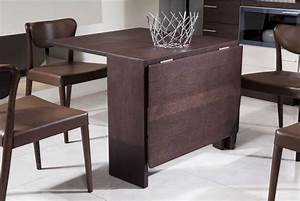 brown expandable dining table ideas for small spaces With expandable dining table for small spaces