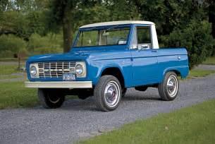 1966 Ford Bronco Models