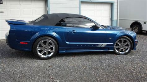 Buy Used 2006 Ford Mustang Saleen Convertible S281